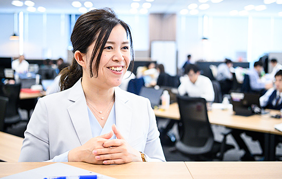 HR事業部 外資チーム エージェント 井口 絢香のイメージ1