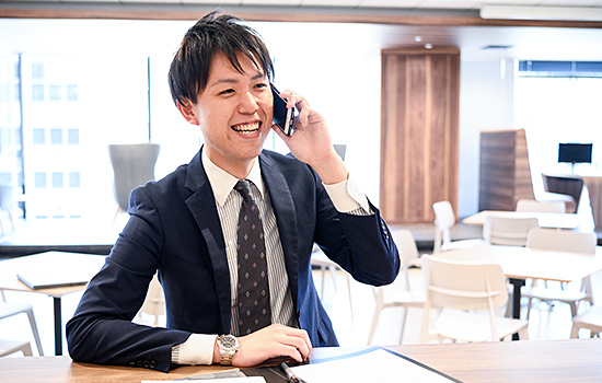 紹介事業部 エージェント 加藤 祐樹のイメージ1
